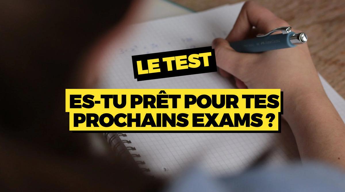 le test es tu pret exams 1